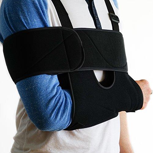 FlexGuard Arm Sling Shoulder Immobilizer – Fully Adjustab...
