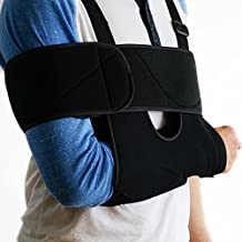 FlexGuard Arm Sling Shoulder Immobilizer - Fully Adjustable - Comfort Padding Support - for Adults