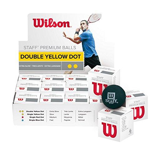 Wilson Balle Staff Squash 2 Points Jaune T61710