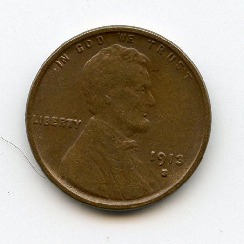 1913 S Lincoln Cent XF-45