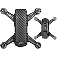 Hobby Signal Carbon Graphic Stickers Skin Decals Waterproof PVC Drone Body Battery Skin for DJI SPARK