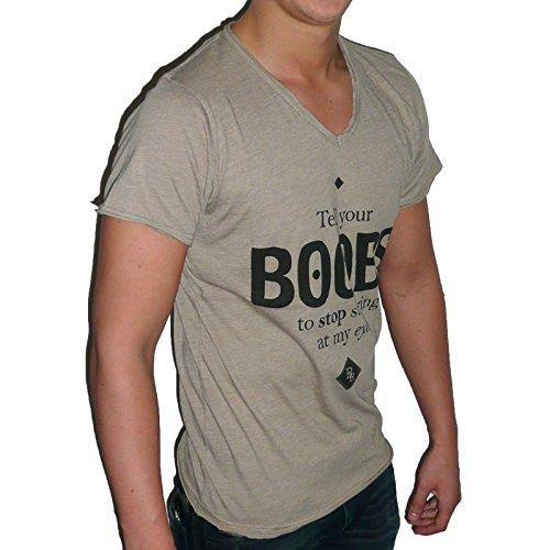 Boom Bap - BOOBS - T-Shirt Herren - grün / olive - Boom Bap - MVL0112 - S, Olive