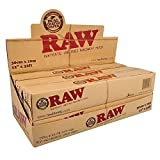 6pc Display - Raw® Rawthentic Unrefined Parchment Paper Roll