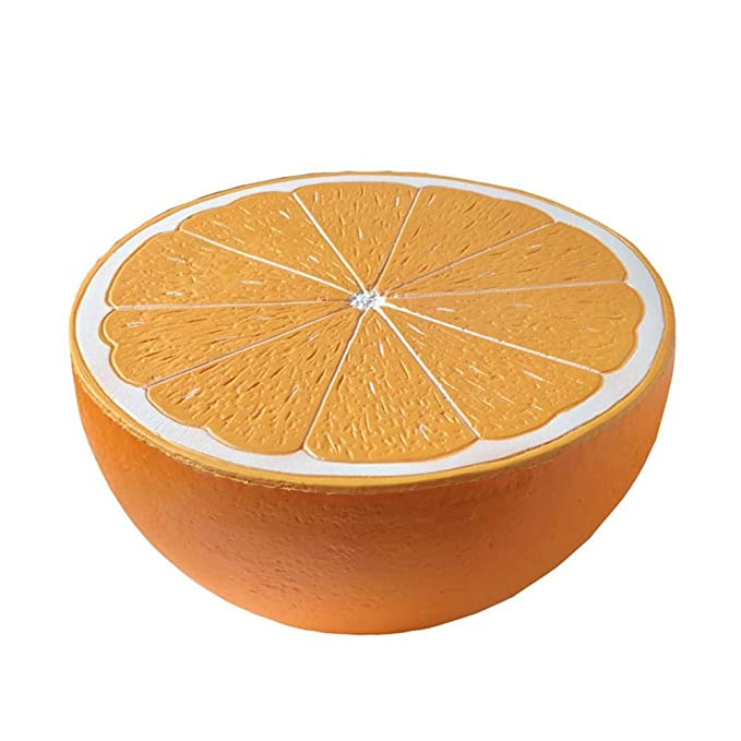 heling896 Juguetes Naranja Forma Rebote Juguete, Super Grande Media Naranja descompresión Juguete, Lento Aumento de Forma de Juguete de Fruta: Amazon.es: ...