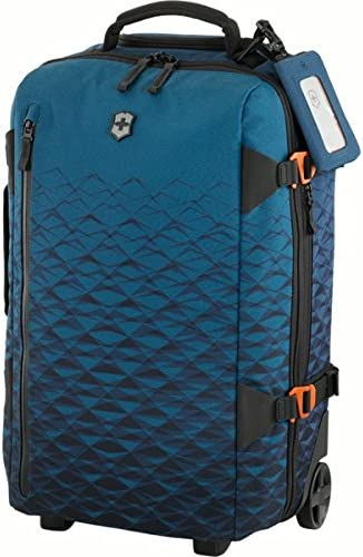 Victorinox VX Touring Global Wheeled Carry-On, Dark Teal, 21.7