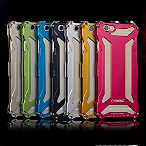 iPhone 5S Case, WKell Metal Aluminum Transformers Bumper OPS Case Cover for iPhone 5/5S(Assorted Color),Rose