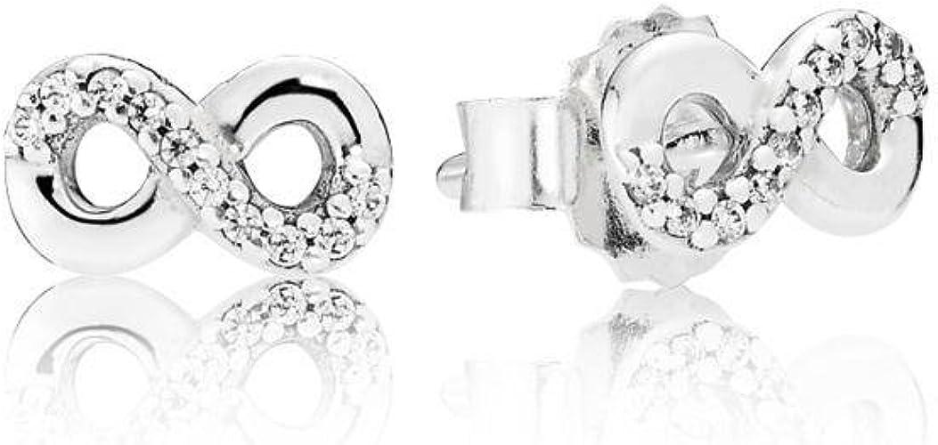 Pandora Orecchini a perno Donna argento - 290695CZ