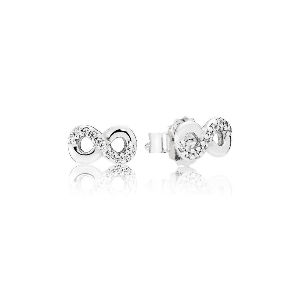 948aba3849ed Amazon.com  Pandora Women s Infinite Love Stud Earrings - 290695CZ  Jewelry