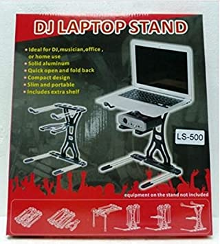 Odyssey LSTANDCOMBO L-Stand Laptop Gear Stand With Accessory Tray