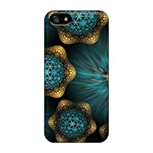 High Quality Shock Absorbing Cases For Iphone 5/5s-beautiful Art 3d