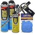 Dow Great Stuff Pro Window and Door Foam Sealant Kit with AWF Pro Professional Foam Gun, Great Stuff Foam Cleaner and Gloves