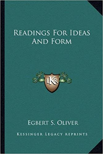 Readings for Ideas and Form