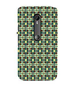 Print Masti Designer Back Case Cover for Motorola Moto G Turbo Edition :: Virat FanBox Moto G Turbo Virat Kohli (Small Square Cubes)