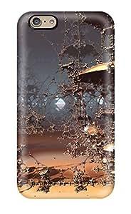 Best 6495244K32697504 Defender Case For Iphone 6, Fractal Pattern
