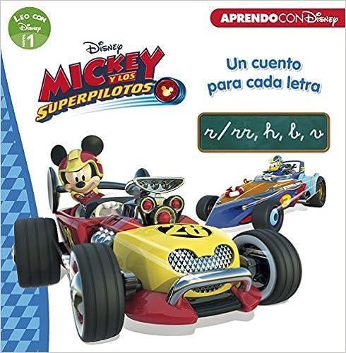Mickey Y Los Superpilotos. Un Cuento Para Cada Letra: R/rr, H, B, V por Disney epub