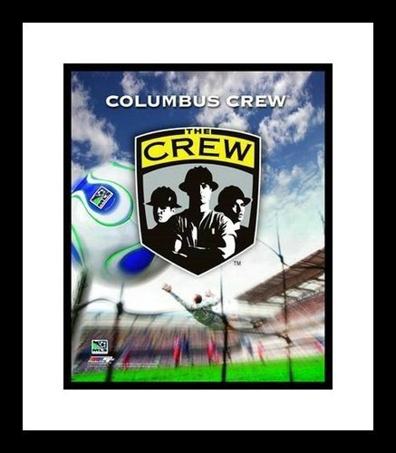 (Columbus Crew Framed MLS Team Logo 8x10 Photo )