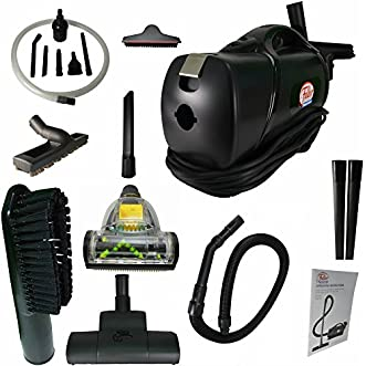 Portable Lightweight Commercial HandHeld Vacuum W/ Blower & HEPA Certified Vacuum Bags, Added Premium Attachments & Micro Attachment Kit.FBP-PCV Fuller Brush Quality Vacuum, Works Great for Pet Hair!