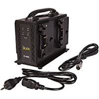 Ikan C-4KA Quad Pro Battery Charger for AB Mount (Black)