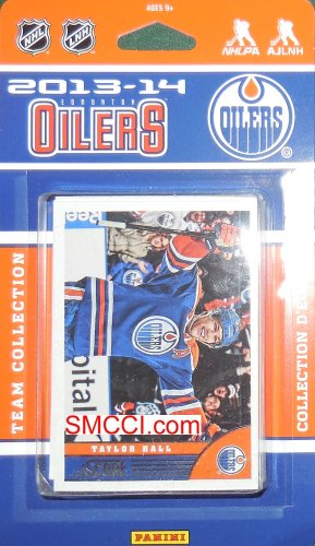 Edmonton Oilers 2013 / 2014 Score Hockey Brand New Factory Sealed 20 Card Team Set Made By Panini (Score Hockey Card)