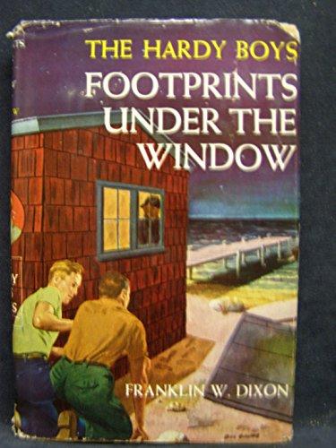 FOOTPRINTS UNDER THE WINDOW. Hardy Boys Series No. 12.