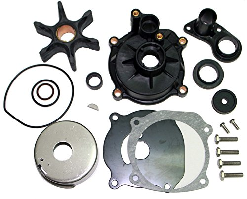 SEI MARINE PRODUCTS- Evinrude Johnson Water Pump Kit 0395073 1978-1984 85 115 140 150 175 200 HP 2 Stroke Evinrude Water Pump Replacement