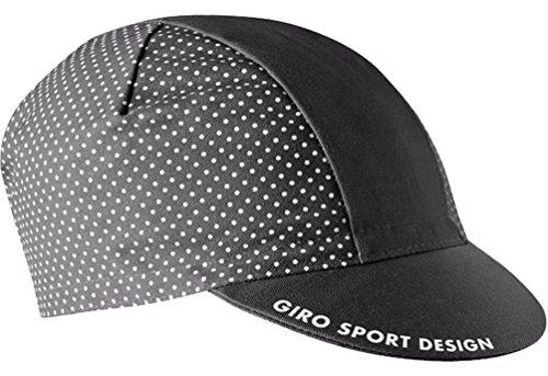 Giro Classic Cotton Cap Dark Shadow/White Dot, One Size (Cap Cotton Cycling)