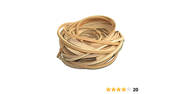 Veg-Tan Bulk Remnant Belt Grade Leather Strips