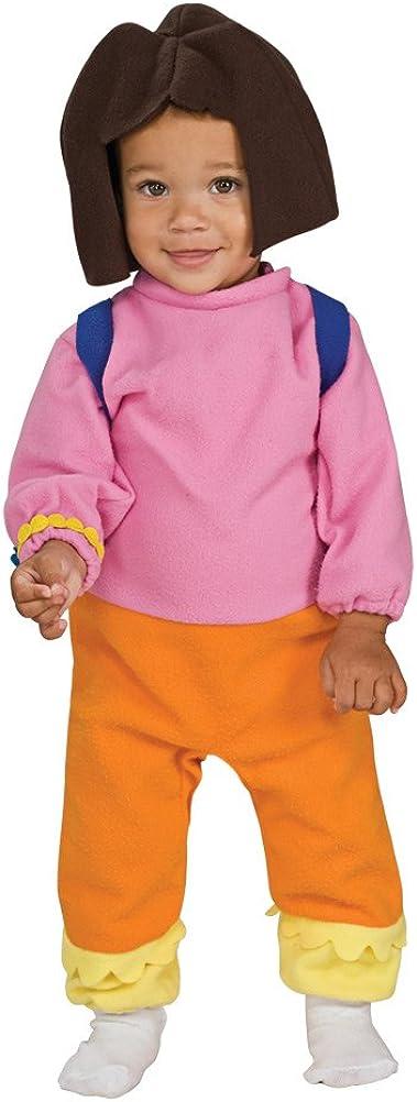 Dora the Explorer Costume Kids Toddler Halloween Fancy Dress