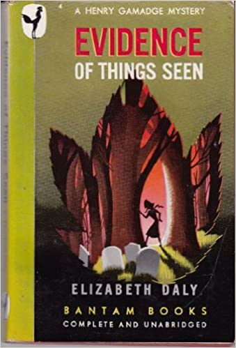 Book Evidence of Things Seen (A Henry Gamadge Mystery)