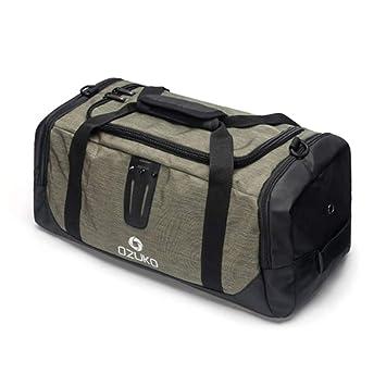 fd0bc466cdd27d Amazon.com   Multi-Function Travel H bag Suit Bag Durable Men Leisure Trip Duffle  Shoulder Bag H Luggage Green   Sports Duffels