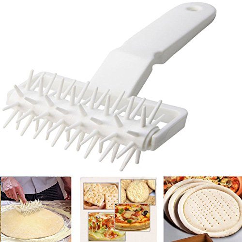 Pizza Dough Docker, gloednApple Thin Crust Pizza Uniformly Prevents Dough From Blistering for Pizza Bakers Pastry Crust Tool (Puff Pastry Pizza)
