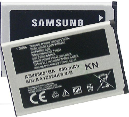 Phone A637 (SAMSUNG OEM AB463651BA BATTERY FOR M330 M340 R450 R451c M540 M550 T559 RANT)