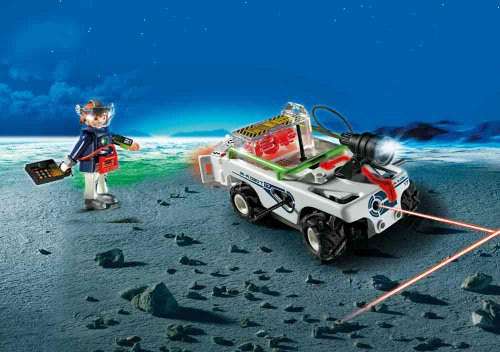 Price comparison product image Playmobil 5151 Explorer Quad with IR Knockout Cannon