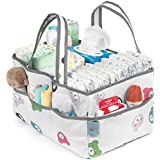 Baby Diaper Caddy Organizer | Nursery Storage Bin and Car Organizer for Diapers,Toys,Wipes,Changing Table,Bath Time and Newborn Essentials | Baby Shower Gift | Large,Waterproof by Bellvy Creations