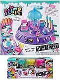 So Slime Factory Shaker + Rainbow 3 Pack! Make Your Own Slime!