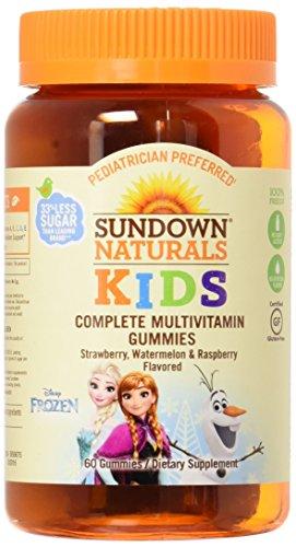 Sundown Naturals Kids Disney Frozen Complete Multivitamin...