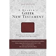 A Reader's Greek New Testament: Third Edition