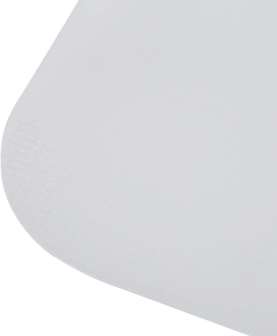 90x90cm B/ürostuhlunterlage rutschfeste Bodenschutzmatte Ger/äuschreduzierung Holzbodenschutzpolster Langlebiges Stuhlkissen