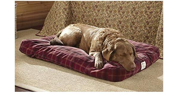 Orvis comfortfill Original/cama plataforma para Perros Grandes 60 - 90 lbs., campo, de tartán: Amazon.es: Productos para mascotas