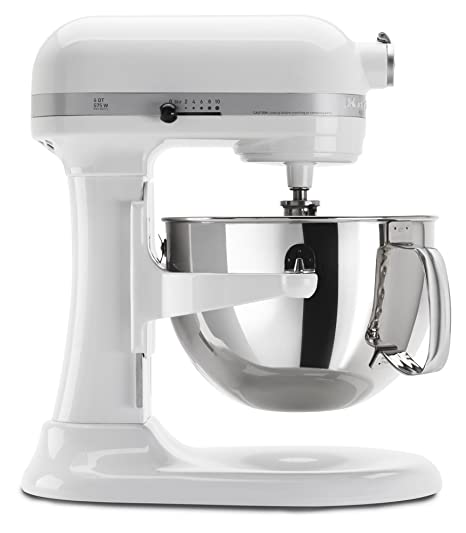 Prime Kitchenaid Kp26M1Xwh 6 Qt Professional 600 Series Bowl Lift Stand Mixer White Download Free Architecture Designs Remcamadebymaigaardcom