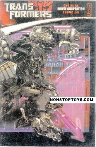 Download Transformers Movie #4 Comic Adaptation - Retailer Incentive Photo Cover (IDW Publishing, 2007) pdf epub