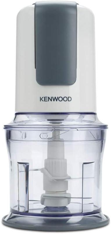 Kenwood CH580 - Picadora eléctrica con 4 cuchillas, accesorio para mayonesa, 500 W, 2 velocidades, material plástico, blanco: Amazon.es: Hogar