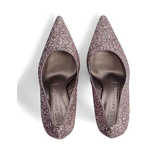 Collection UK 4 5 Marks Heel T020141A Pointed amp; M RRP Pink Shoes Court amp;S 35 Spencer Stiletto ZwqIaw6