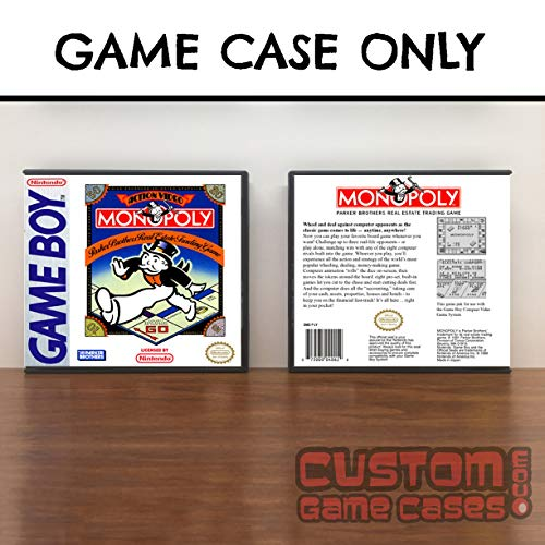Gameboy Monopoly - Game Case (Monopoly Game Boy)