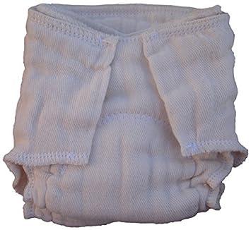 Pre-Equipada pañal de tela, NB / prematuro, sin blanquear