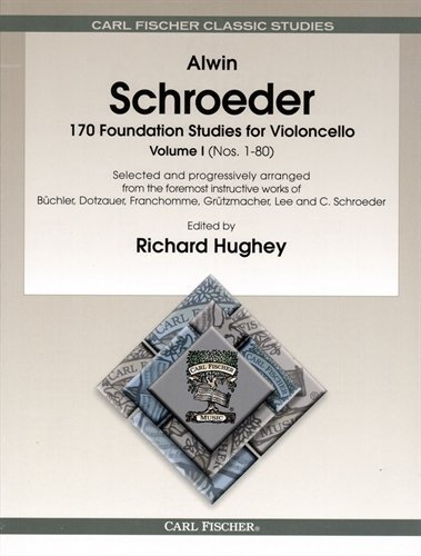 Schrders the best amazon price in savemoney schroeder 170 foundation studies volume 1 for cello published by carl fischer fandeluxe Image collections