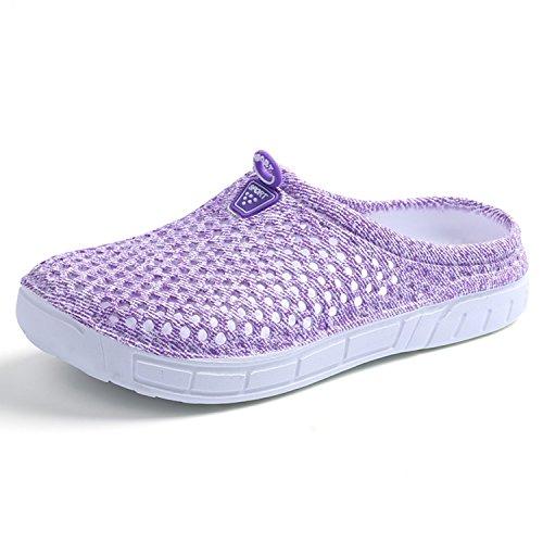 BARKOR Womens Summer Garden Clog Shoes Mens Walking Shoes Quick Drying Mesh Beach Sandals