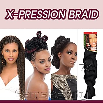Amazon Com Sensationnel Synthetic Hair Braids Xpression Kanekalon