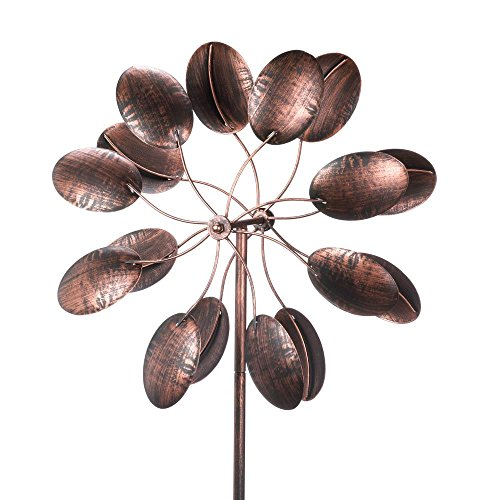 Kinetic Outdoor Sculpture Spinner Pinwheel product image