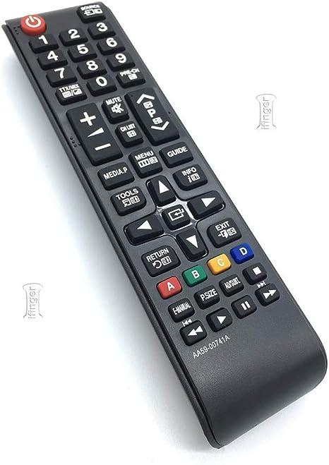 IFINGER Mando para TV Samsung UE40J5100 UE40J5100AWXBT Television ...